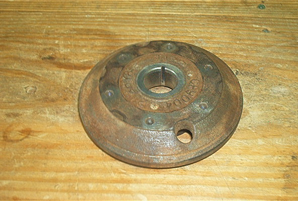 USED FLYWHEEL FOR 295 OR 350 E-Z GO ENG.