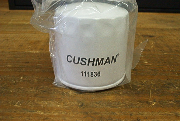 NEW OIL FILTER FOR CUSHMAN OMC ENG.
