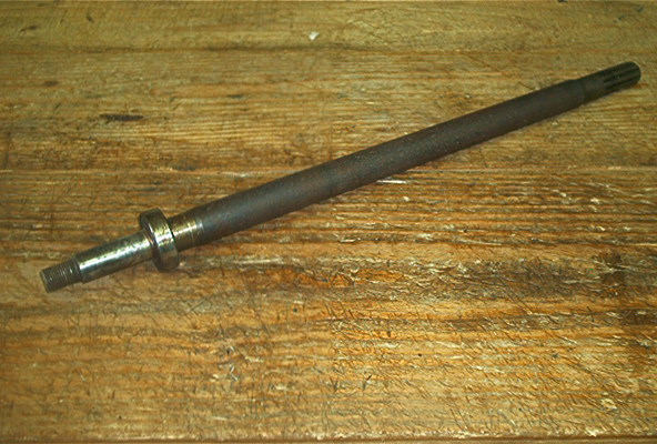 USED REAR AXLE FOR EZ GO KEYED SHAFT