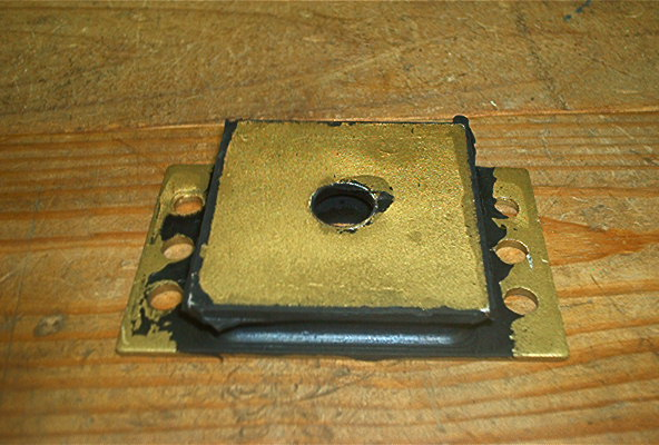 POWER FRAME MOUNT FOR CUSHMAN